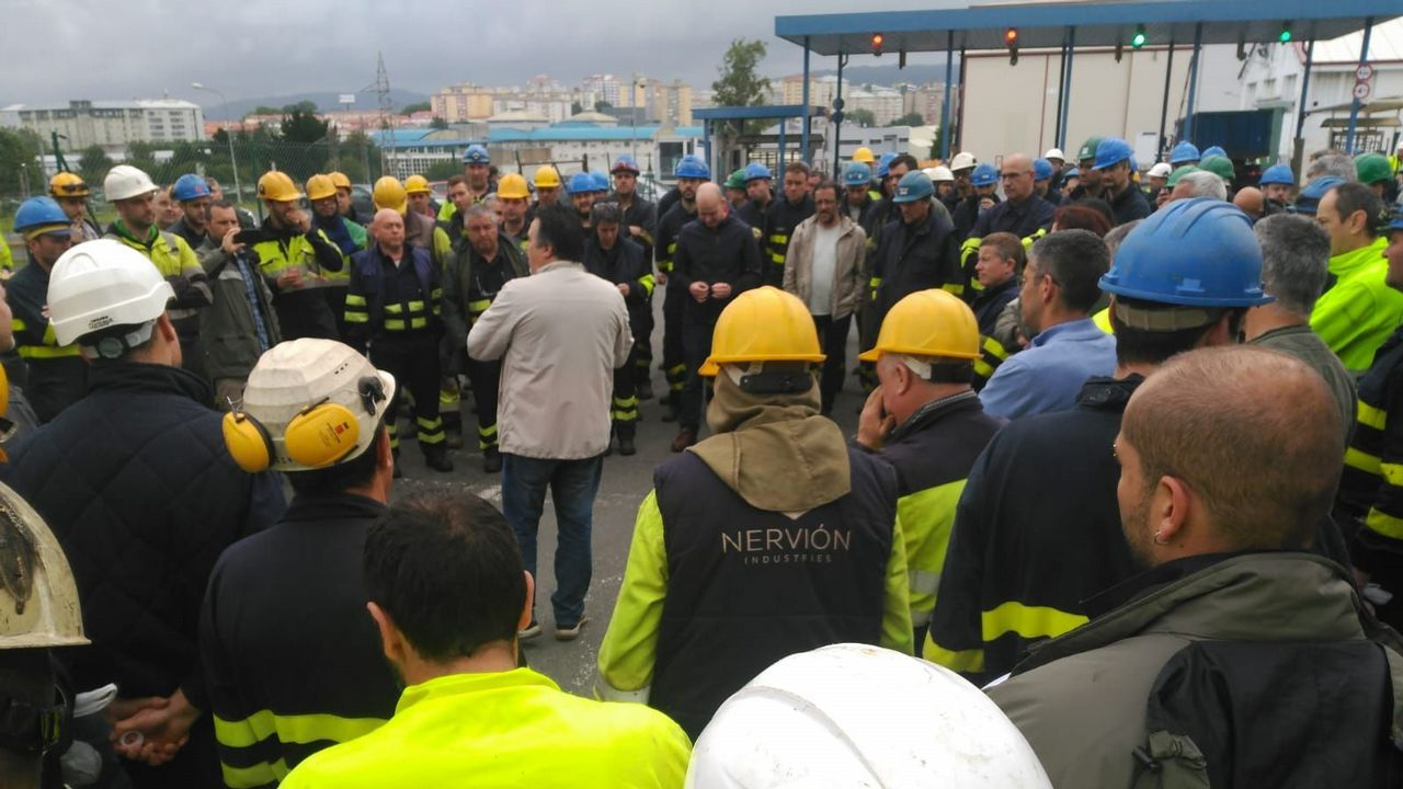 Centro penitenciario de Villabona.Los sindicatos se felicitan por la masiva adhesión al paro que dejó la capital semidesierta