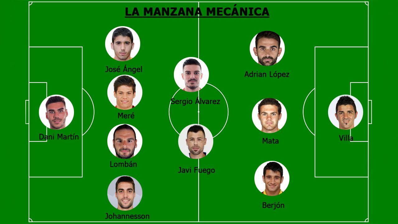 Juan Mata Common Goal.La manzana mecánica 2017