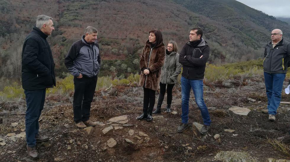 Las familias políticas de Ourense.Con fondos del GDR se rehabilitó la iglesia de Sobradelo