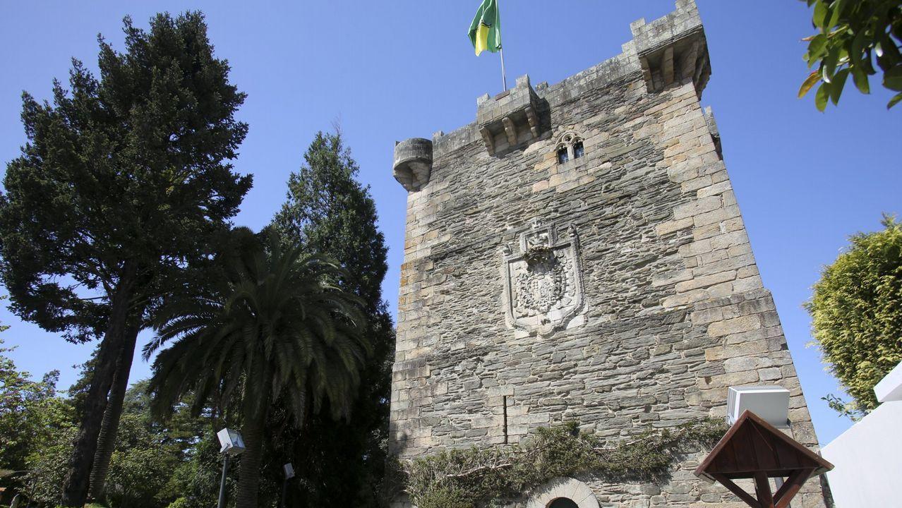 Torre de los Andrade, Pontedeume.