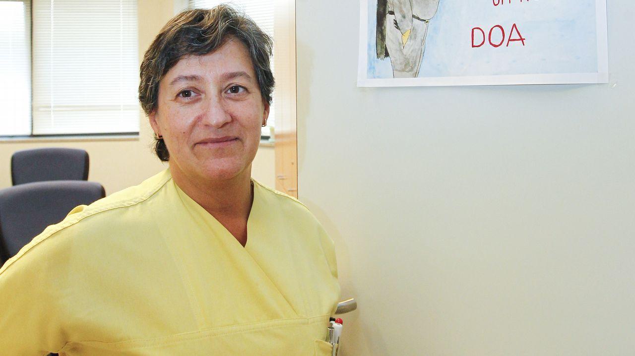 ¿Un asesinato en el hospital Balmis?.Dolores Escudero es la coordinadora autonómica de la Unidad de Trasplantes de Asturias