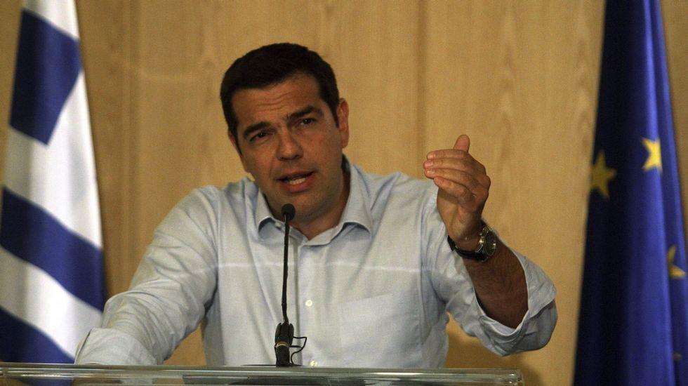 En Grecia siguen diciendo «no».La nueva primera ministra provisional de Grecia, Vasilikí Zanu.