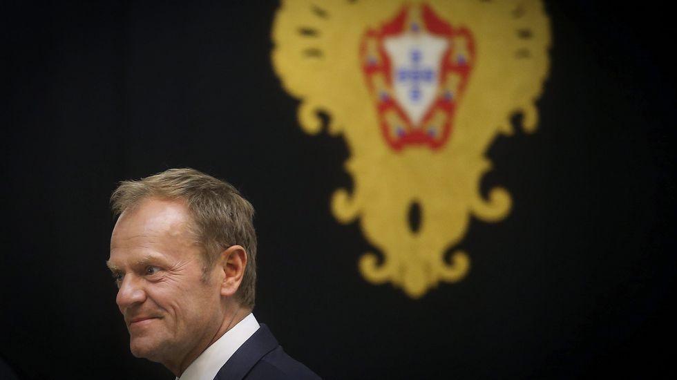 .El presidente del Consejo Europeo, Donald Tusk