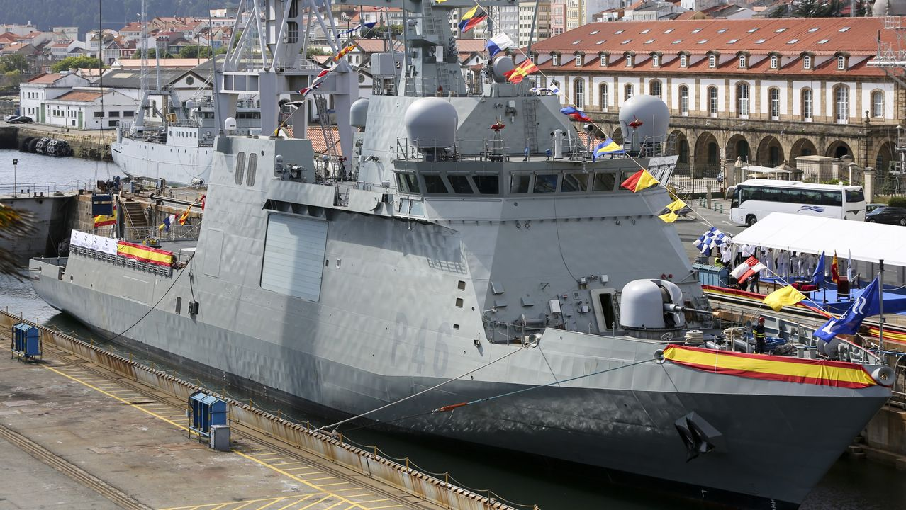 Así fue la ceremonia del BAM en Ferrol.
