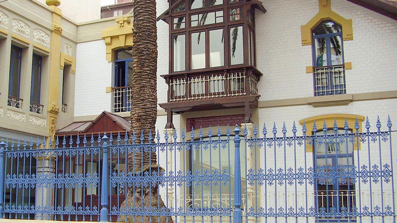 .Casa de la Palmera de Gijón, sede de Divertia