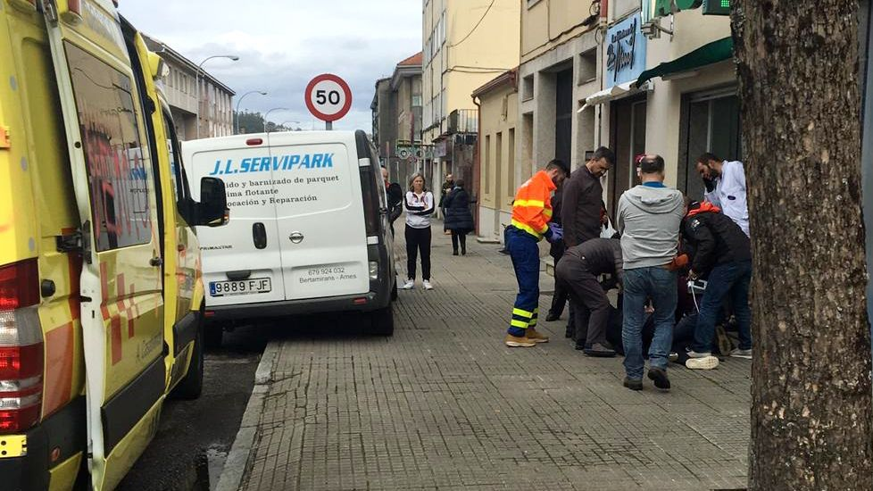 Encierro en Pontevedra