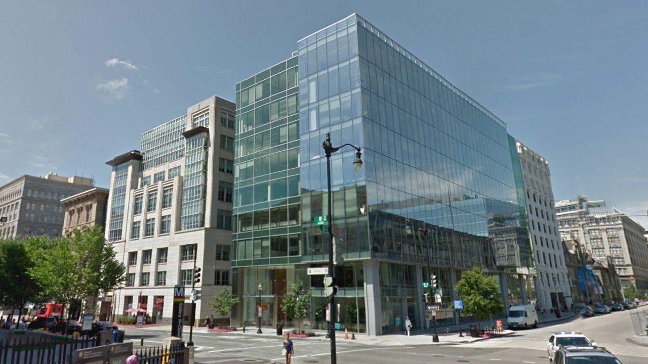 .El nuevo edificio adquirido por la familia Masaveu en Washington