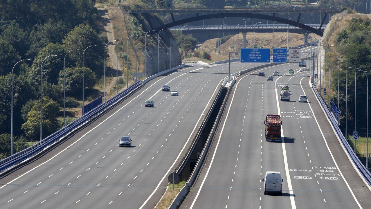 Así será la nueva estación de autobuses de Vigo.Corte en la AP-7