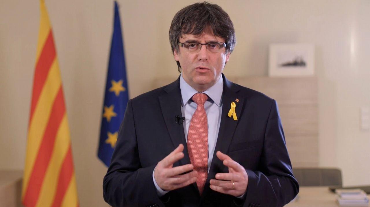 En directo, pleno de investidurade Jordi Turull.El presidente del Parlamento catalán rechazó ayer las propuestas para desbloquear la legislatura