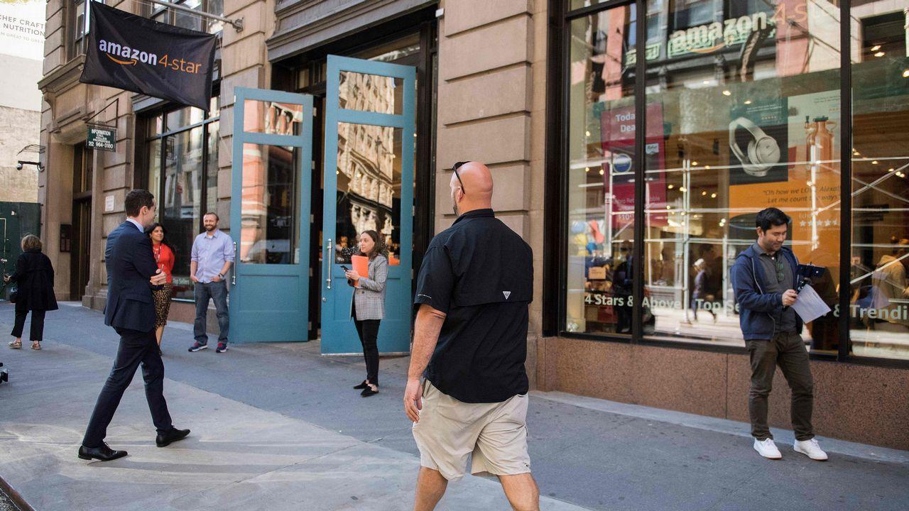 Así conmemoró Área Central su 25 aniversario.Primera tienda fisica de Amazon en Nueva York