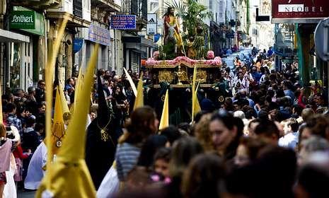 La procesión de la Entrada triunfal de Jesús en Nazaret, tendrá lugar el domingo.