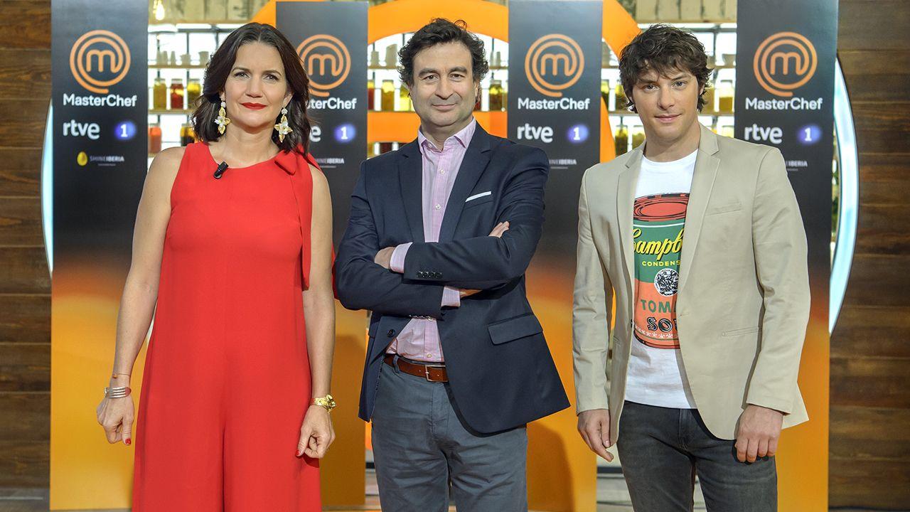Samantha Vallejo-Nájera, Pepe Rodríguez y Jordi Cruz