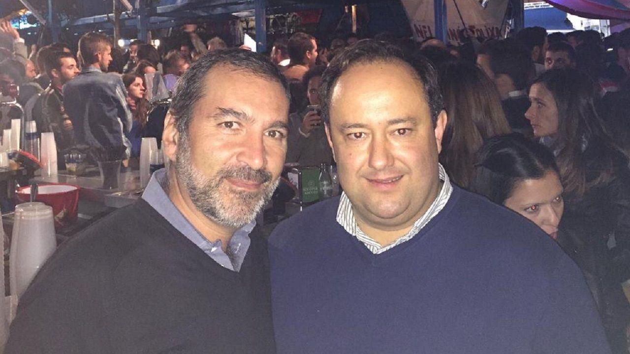 Jose Aboumrad y Jorge Menéndez Vallina en una foto de 2015