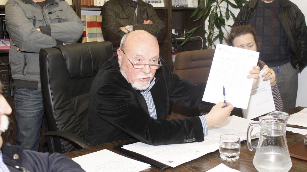 Antonio Gato, exalcalde socialista de Monterroso y candidato a la reelección como independiente