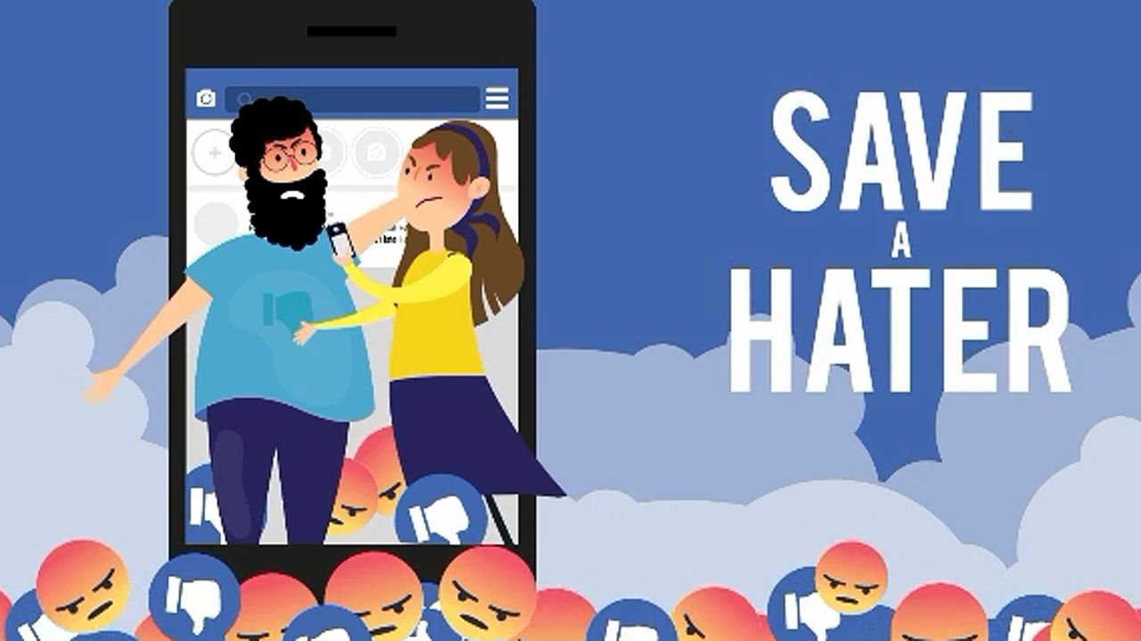 Save a hater.Monedas de euro