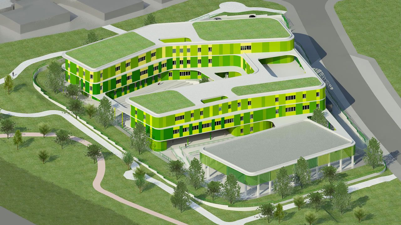 Proyecto para la construcción del instituto de La Corredoria.Proyecto para la construcción del instituto de La Corredoria