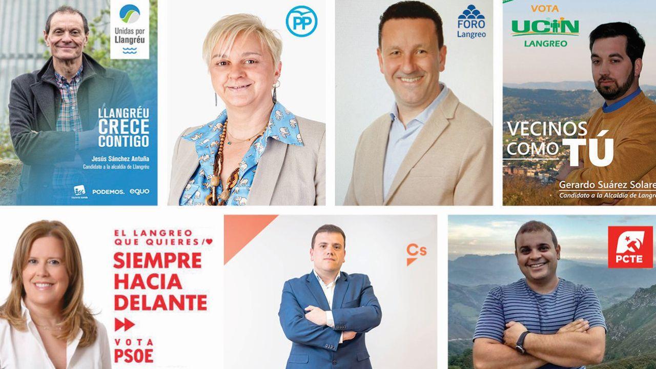 Candidaturas Langreo