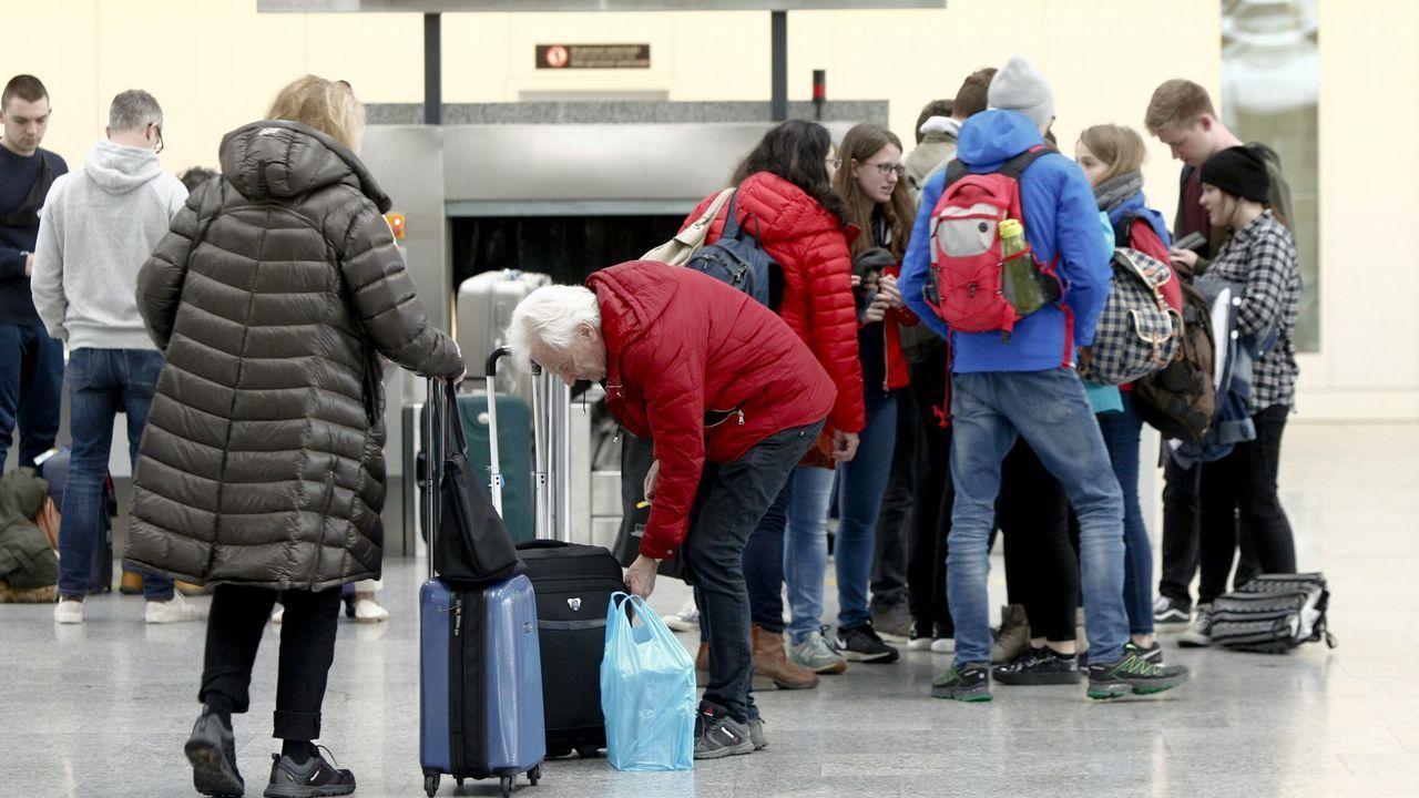 Accidentes aéreos en Galicia.Tania Cabo, única mujer piloto del aeropuerto internacional de Etiopía