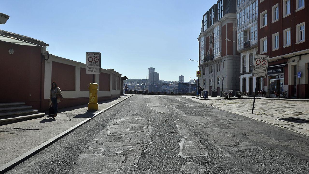 Las obras continuan en varias partes del estadio de Riazor