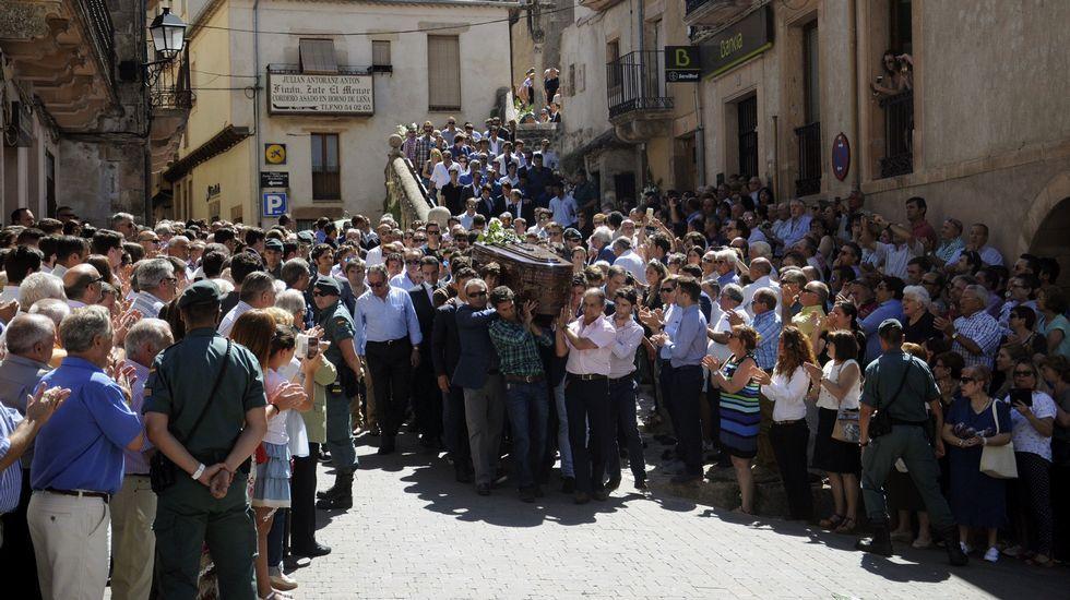 Último adiós al torero Víctor Barrio.Foto del último encierro de San Fermín