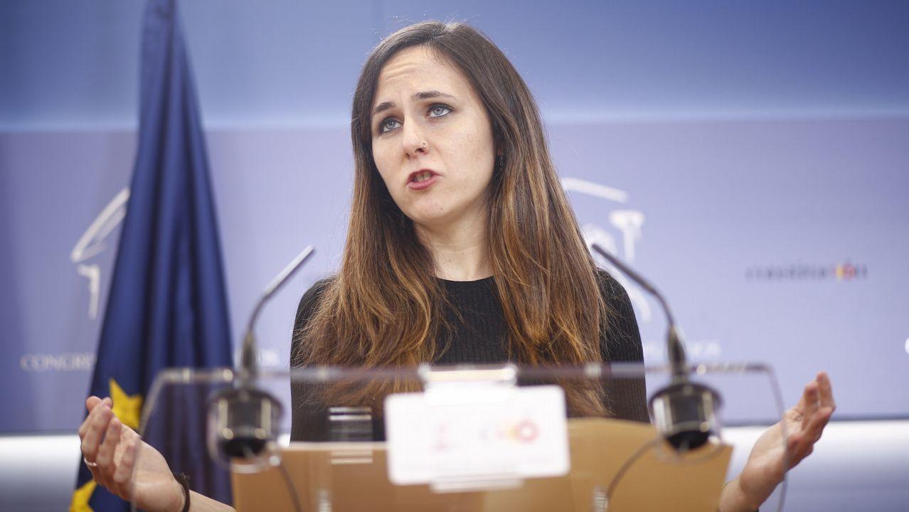 |Europa Press.Belarra, portavoz de Podemos en el Congreso, no aclaró si Iglesias asistirá al Consejo Ciudadano.