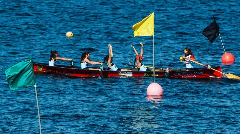 El Club de Remo Vilaxoán se proclama campeón gallego de bateles en promesas femeninas.La reunión se celebró en el Pazo de Feiras y estaban convocados alcaldes y concejales.