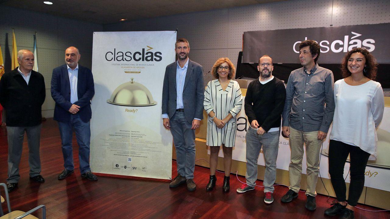 La violinista de 15 años María Dueñas debuta con la OSG este jueves en Pontevedra y el viernes en A Coruña