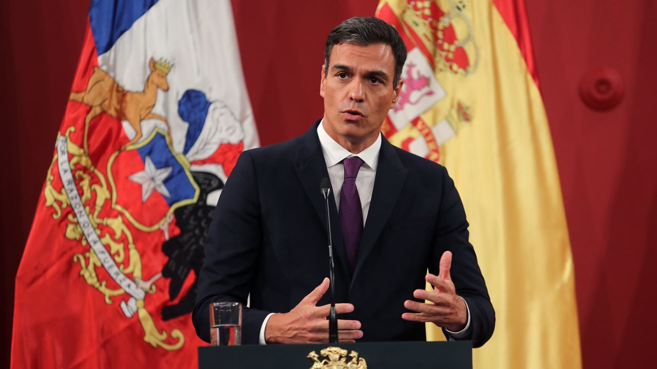 La luz más cara del año.Pedro Sánchez en Chile