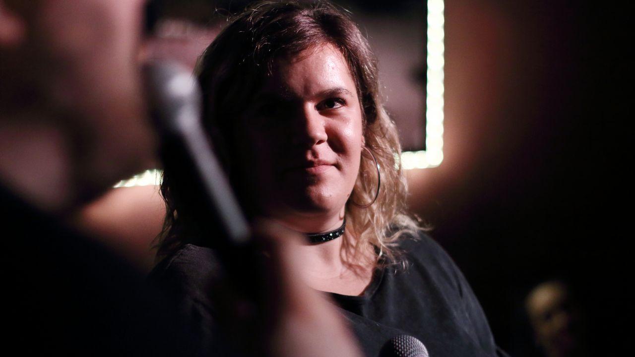 La avilesina Laura González en las audiciones a ciegas de«La Voz»