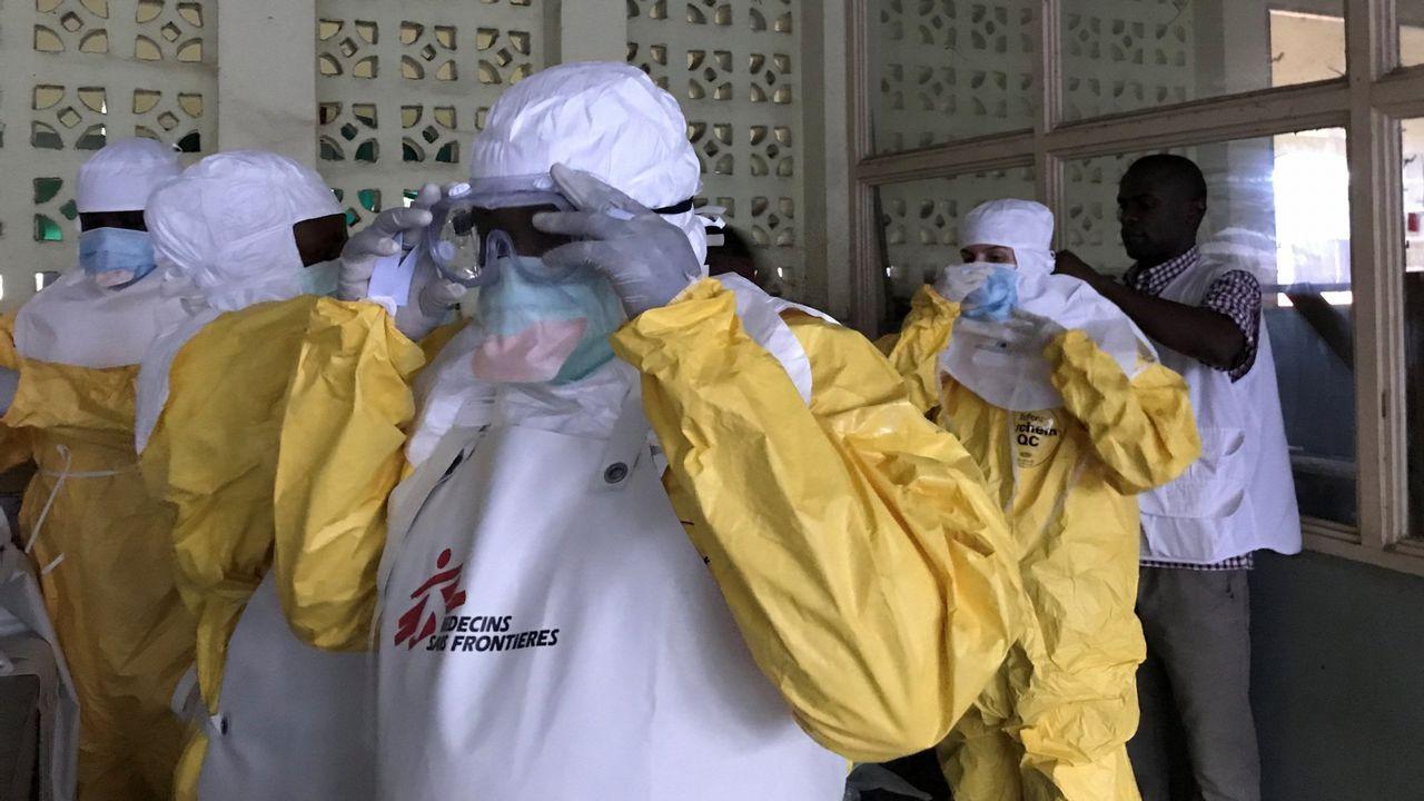 Rebrote de sarampión en Europa.Nuevo brote de ébola en el Congo