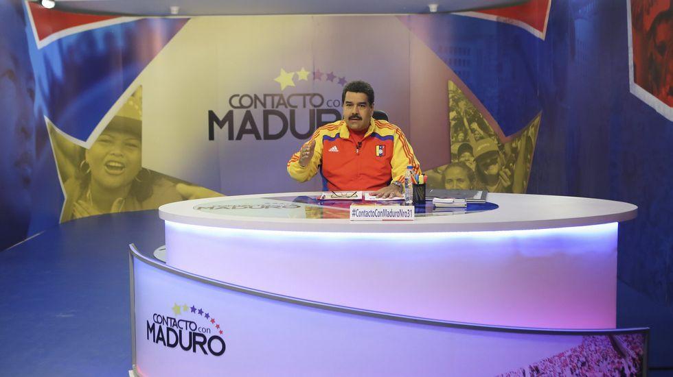 .Nicolás Maduro en su programa  En contacto con Maduro