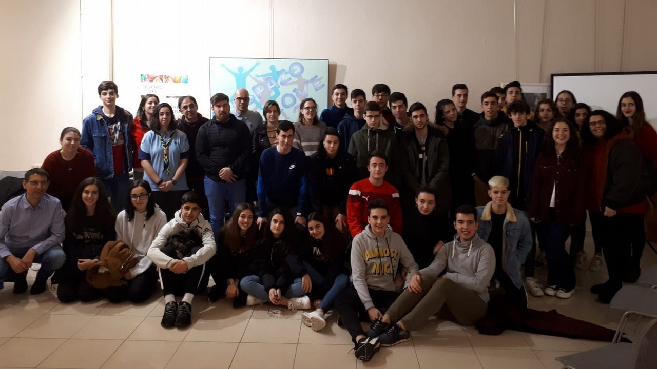 Foto histórica Lámparas Iria.Programa «mentoring» de Compromiso Asturias XXI, en 2018