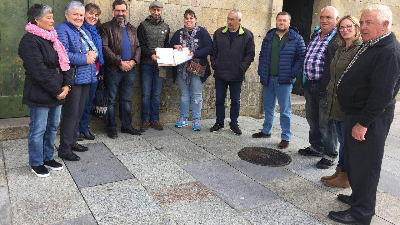 Cementerios singulares de Ourense.Quesos Feijoo logró una plata por su semicurado de cabra en bodega