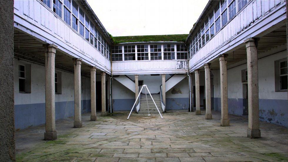 ANTES. La Fundación Luis Seoane. El edificio de la Fundación Seoane en A Coruña ocupa el lugar dle cuartel de Macanaz y conserva algunos de sus elementos.