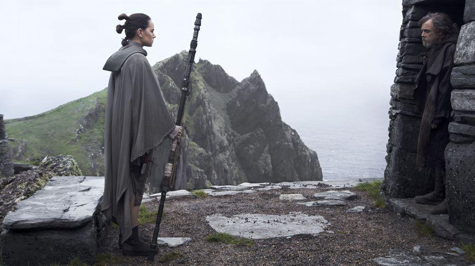 El lado oscuro asalta A Coruña.Paul Kasey, de «Star Wars» y «Doctor Who»