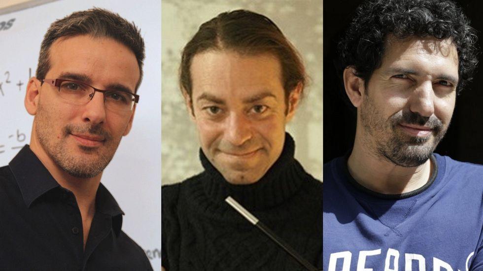 David Calle, Xuxo Ruiz y César Bona han sido los tres españoles finalistas del Global Teacher Prize