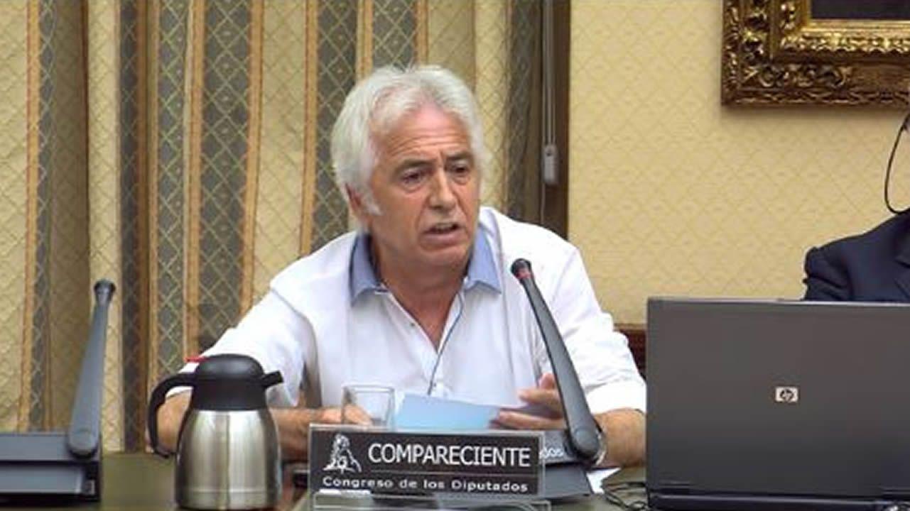 Antonio Martín Marugán, interventor del tren siniestrado en Santiago