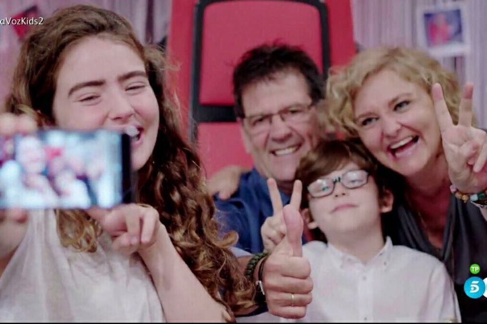 Final agridulce en La Voz Kids para Antonio Orozco.Melendi en La Voz