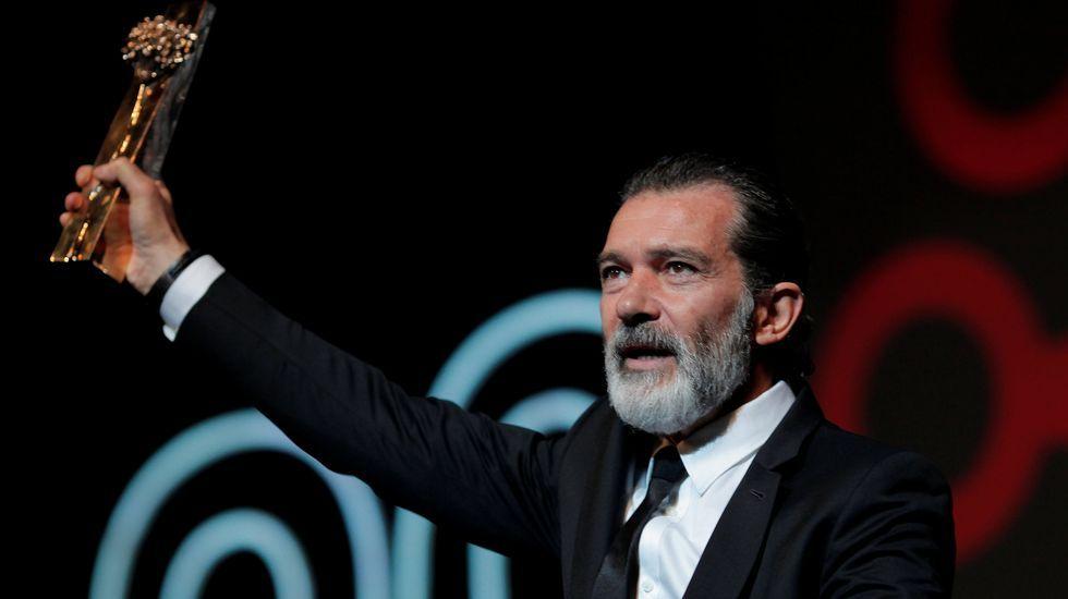 .Antonio Banderas, en el Festival de Málaga