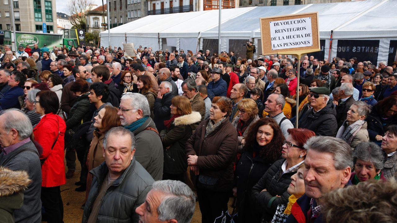 Concentración en Pontevedra