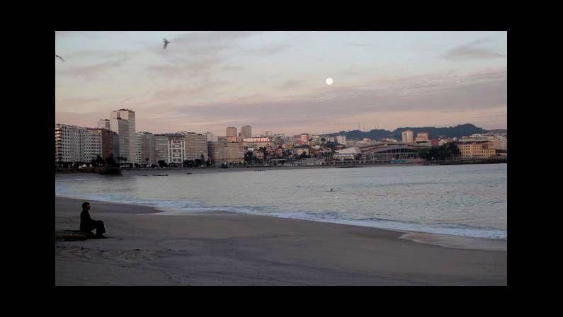 Xoel López recogió diferentes escenas de la ciudad en  Tierra .