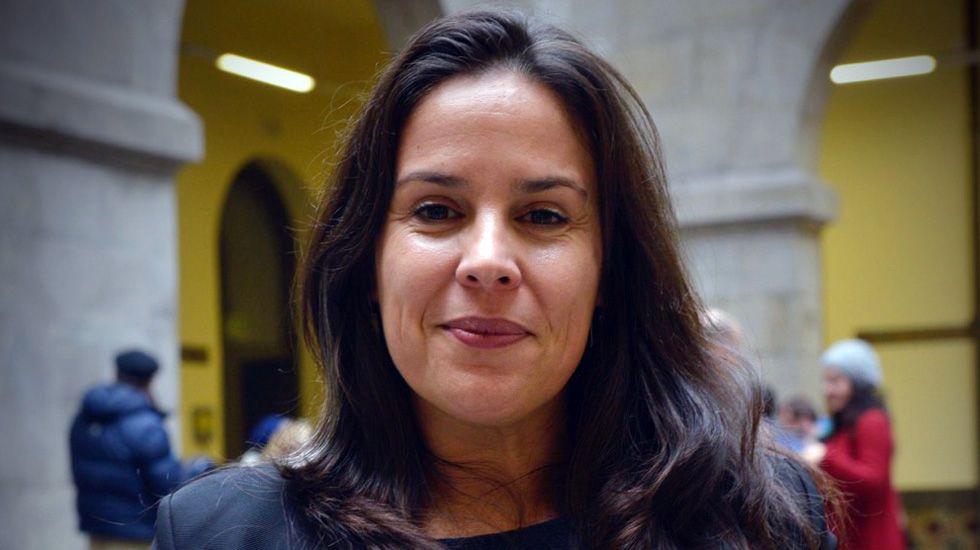 El director Santiago Zannou.Marga Ramos, de la directiva de ACICCA