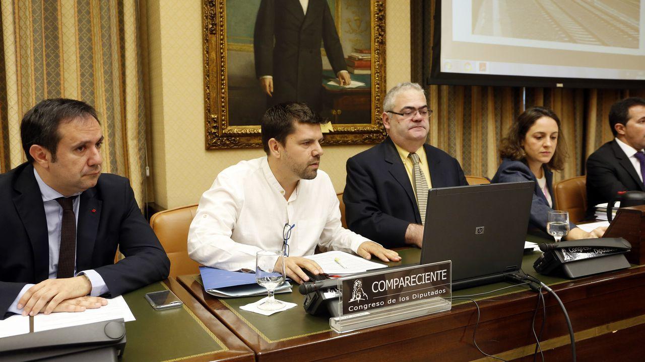 .Jesús Domínguez, portavoz de la plataforma de víctimas, hubiese querido que los responsables políticos pidiesen perdón y dimitiesen