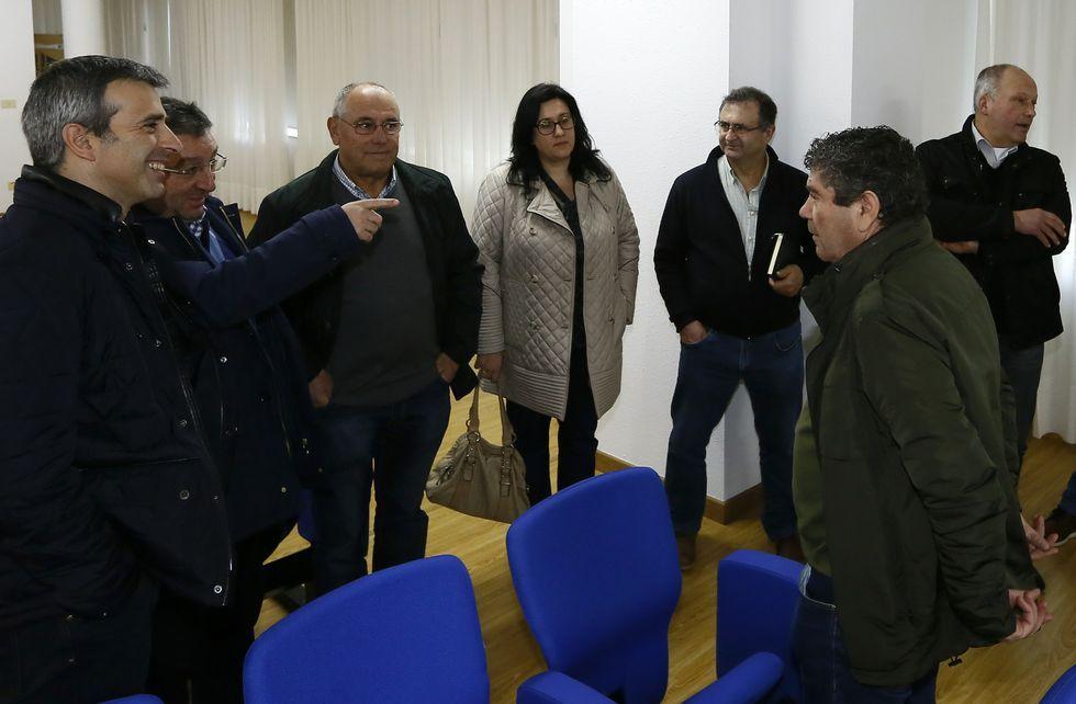 .La consejera de Desarrollo Rural, María Jesús Álvarez