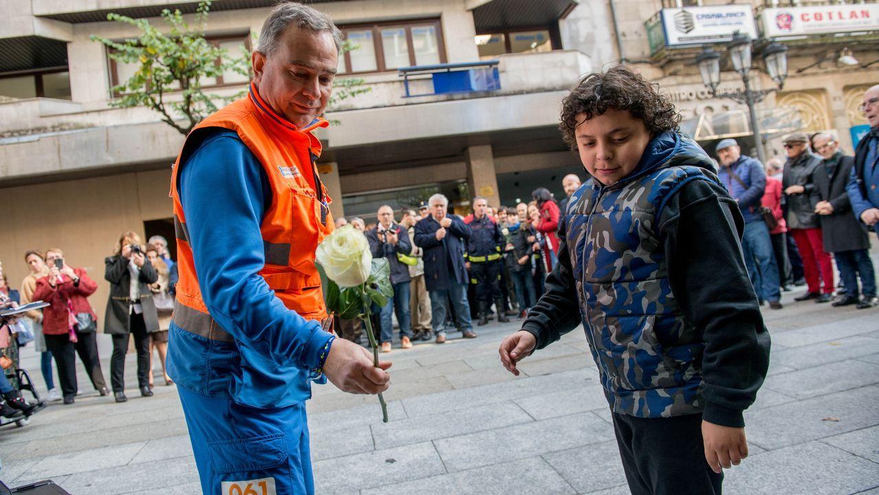 Ourense no olvida a las víctimas de tráfico