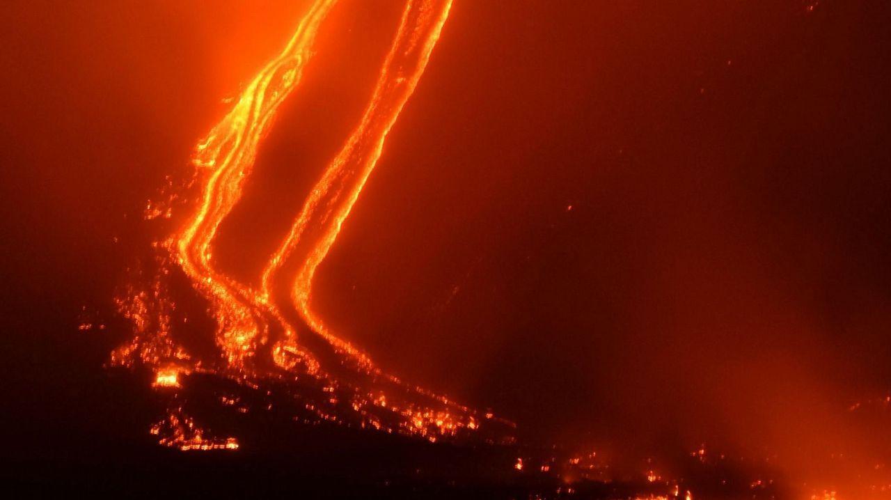 El volcán que despertó los fantasmas del pasado.Los alumnos del centro ocupacional  hicieron de modelos para el almanaque solidario