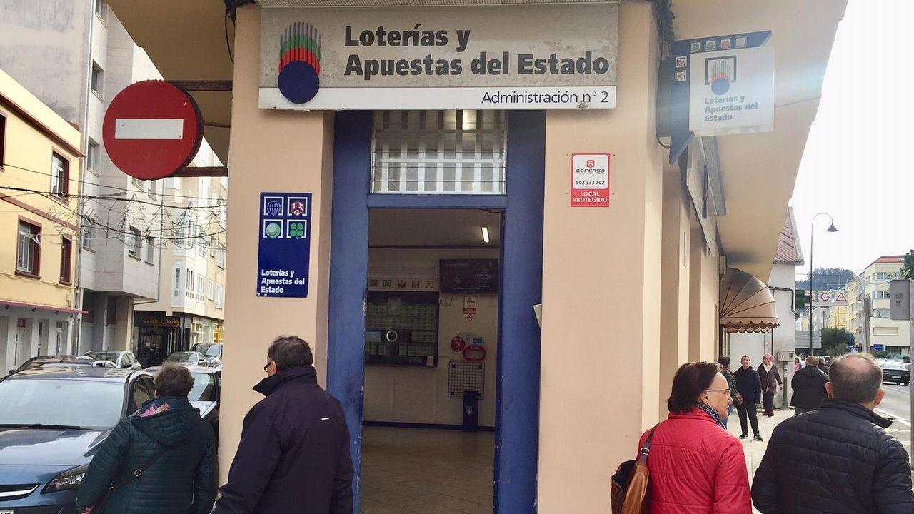 Administración de Cedeira donde se vendió el quinto premio