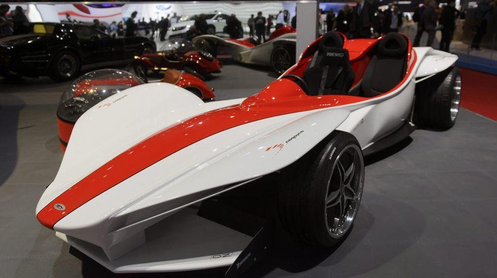 El nuevo Sbarro Triple se expone en el Salón Internacional del Motor de Ginebra.