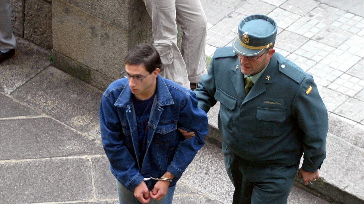 Juan Lara Cao, en mayo del 2008, cuando fue juzgado por abusar de menores en Ourense.