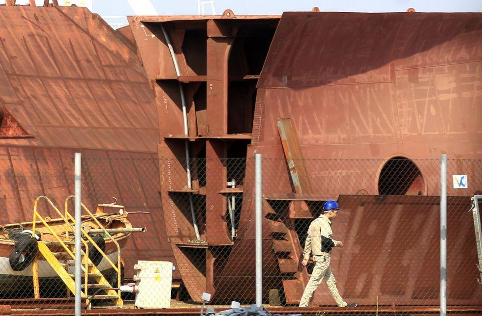 .El flotel que Pemex construye en Barreras dará servicio a la petrolera en el golfo de México.